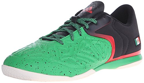 adidas X 15.2 CT-M Performance Men's Soccer Shoe,Green/Black/White,7.5 US