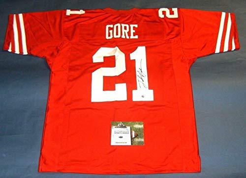 85784fd09c6f Frank Gore San Francisco 49ers Memorabilia at Amazon.com