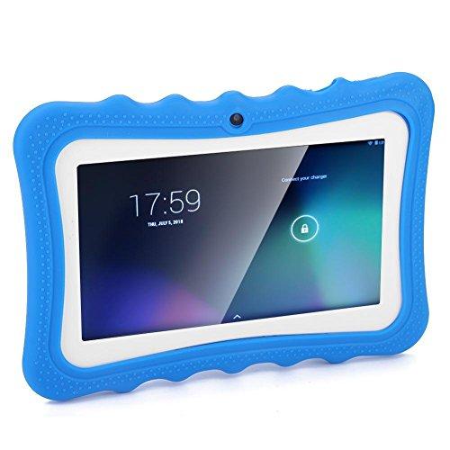 7 inch kindertablets, touchscreen kindertablet-pc Ogenbescherming WiFi leertablet voor kinderen Vroeg onderwijs HD…