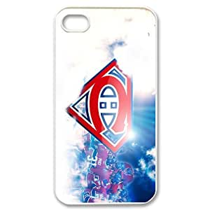 Fashionable Creative Snap-on NHL Famous Canadiens de Montreal Club Team Logo Cover case for iphone 4/4S Case-1