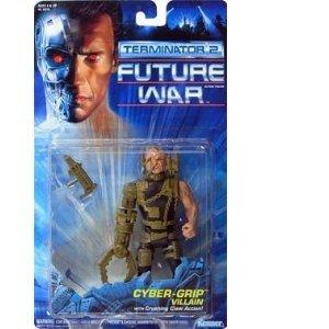 Terminator 2 Future War 'Cyer grip Villain' action figure (Kenner 1992) ()