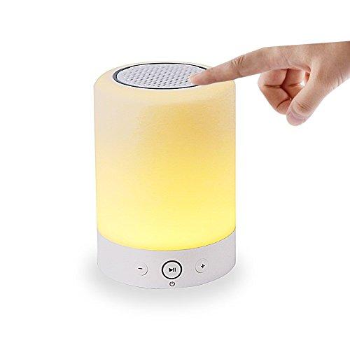 YONNEY Bedside Wireless Bluetooth Speaker