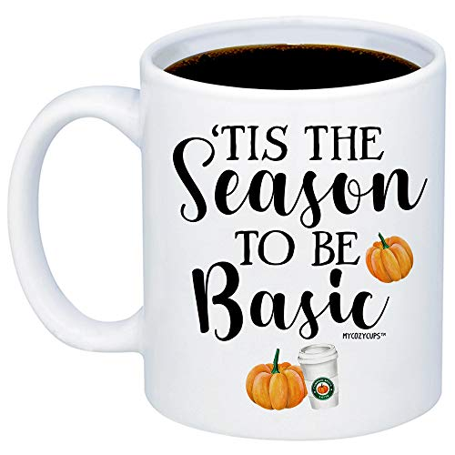 MyCozyCups Funny Fall Mugs - Tis The Season