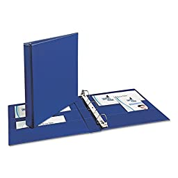 Avery 07300 Durable 3-Ring Binder, 1\