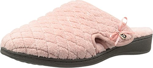 Vionic Adilyn Womens Orthotic Support Slippers Rose - 8