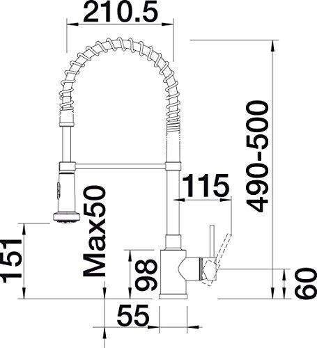 blanco master s semi profi k chenarmatur k chenausstattung k chenzubeh r shop. Black Bedroom Furniture Sets. Home Design Ideas