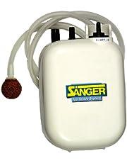 Bomba de oxígeno 2-velocidades - funciona a pilas