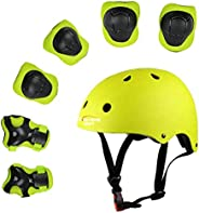 XingCheng-Sport Kids Protective Gear Set Outdoor Sports Protective Gear Set for Cycling Roller Skating Skatebo