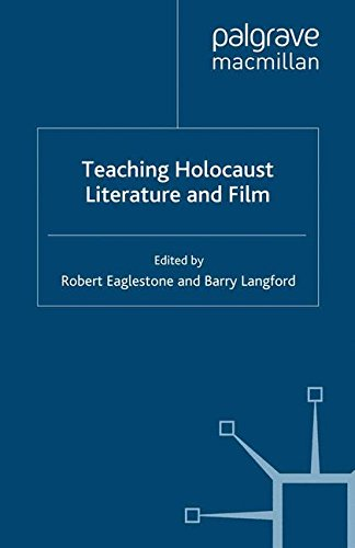 Read Online Teaching Holocaust Literature and Film (Teaching the New English) ebook