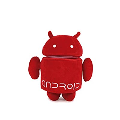 ANDROID ROUGE peluche super soft 20 cm
