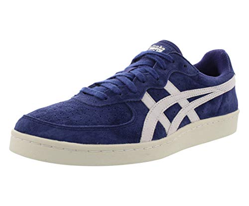 Onitsuka Tiger GSM Mens Blue Suede Lace Up Sneakers Shoes 9.