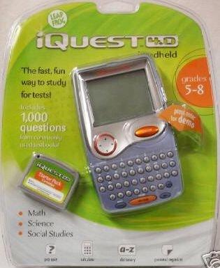Leap Frog iQuest Handheld 4.0  Grades 5-8 with BONUS Starter