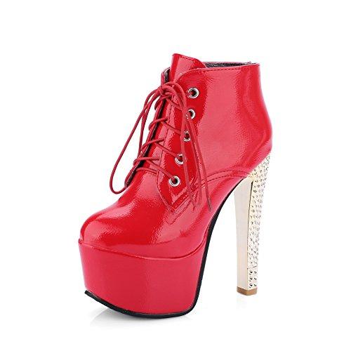 AdeeSu Urethane Womens Fashion Platform Slip-Resistant Urethane AdeeSu Boots SXC02379 B078136RGC Shoes 00d74f