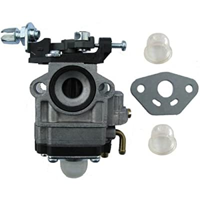 33cc Carburetor w/Gasket,primer bulbs for Goped Sport G23lh carb 23cc Zenoah: Automotive