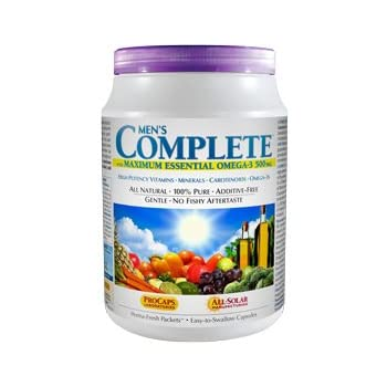 Andrew Lessman Multivitamin - Men's Complete with Maximum Essential Omega-3 500 mg, 60 Packets