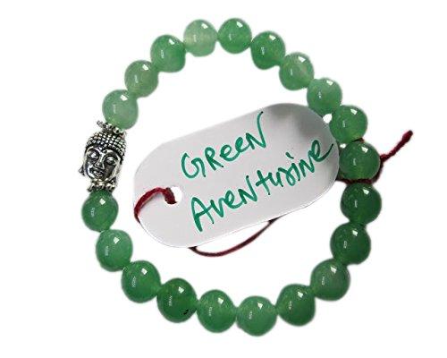 wholesalegemshop-green-aventurine-8-mm-bead-buddha-bracelet