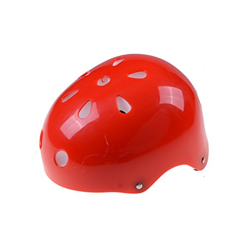 Eshylala Childrens Helmet, Kids and Micro Safety Helmet for Cycling, Dancing, Swimming Wading, Shooting, Hiking, Camping, Sportswear Accessories, Other Ball Sports-(BLUE,PINK,RED) For Sale