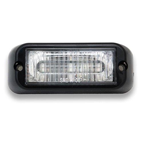Abrams- EG-300-W Edge 3 LED Grill Light, White/White