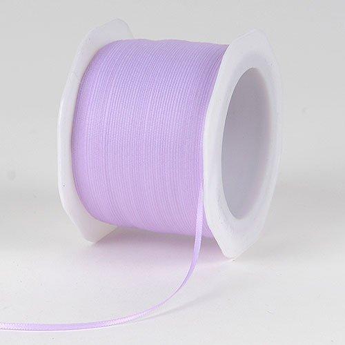 Lavender Satin Ribbon 1/8 inch 100 Yards by BBCrafts   B0071UWOUQ