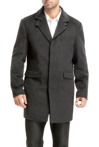 Length Cashmere Blend Overcoat - 9