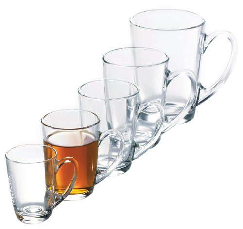 Arc International Luminarc New Morning Mug, 3-Ounce, Set of 6 3 Oz Wine Goblet