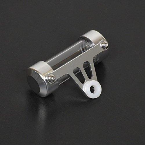 Support de vignette Moto Cylindrique 50 X30 mm Gris