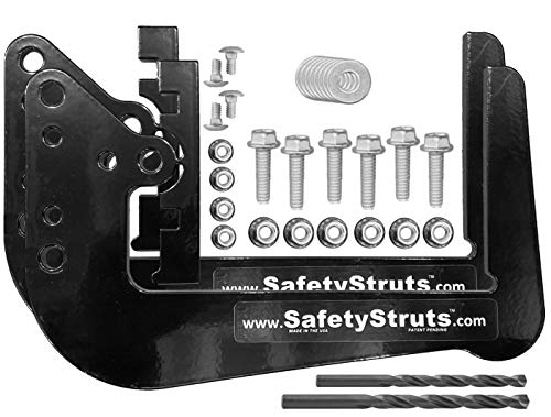 (Mount-n-Lock SafetyStruts Prevent RV Bumper Failure TM (SSN-Standard, Black))