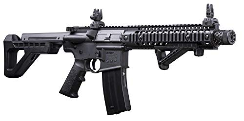 : DPMS Crosman SBR CO₂ 4.5mm BB Air Rifle with Dual Action Capability