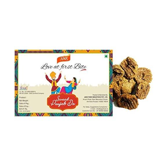 JAGS Amritsari Urad Dal Medium Spicy Masala Wadi (200 g)