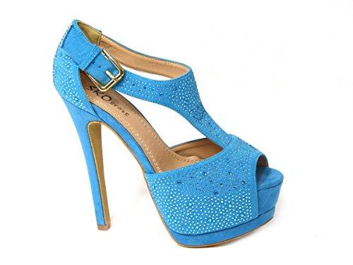 SKOS  Various designs exclusively low prices !, Damen Pumps Blue (01-19)