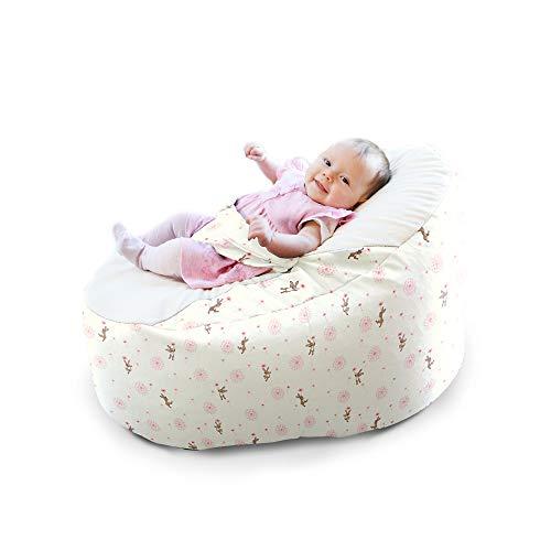 Belle & Boo Dandelion Gaga+ - Puf para bebé: Amazon.es: Bebé