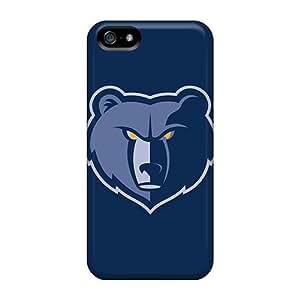 Case For Iphone 5/5S Cover Skin : Premium High Quality Nba Atlanta Hawks Case