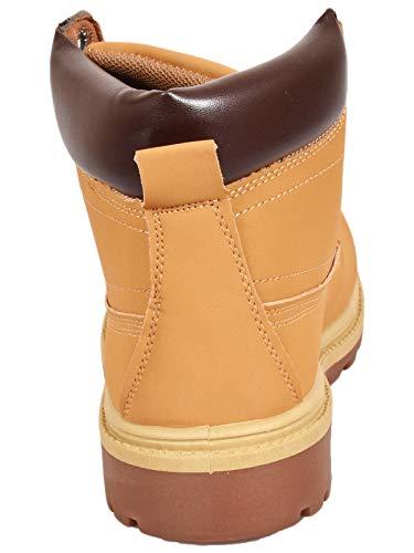 3 Originals Bottes Femmes Chaussures Randonne Taille Dames Norvge Suede Lace Tan Bottines 8 Marche Up Casual Faux 6Ugn4qwxd