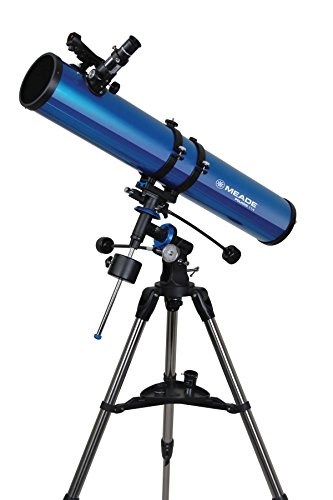 Meade Instruments 216004 Polaris 114 EQ Reflector Telescope, used for sale  Delivered anywhere in USA