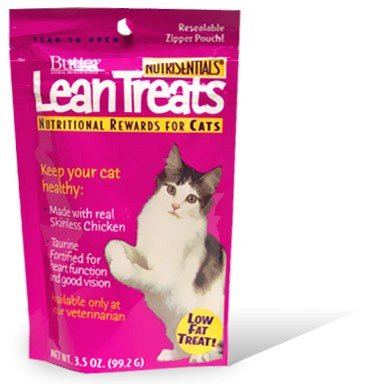 Butler Lean Treats Nutritional Rewards for Cats (20 Pack), 3.5 oz/One Size