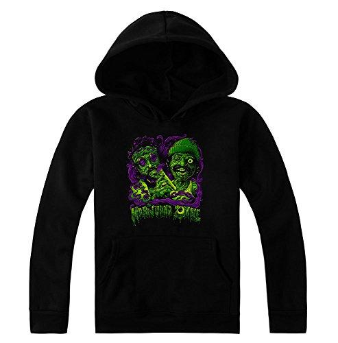 Cheech And Chong Marijuana Zombie Design Women's Hoodie Pullover