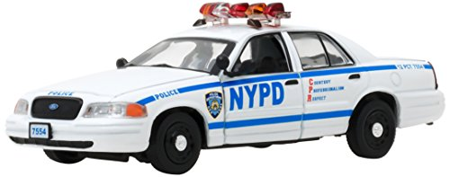 1:43 Blue Bloods (2010-Current TV Series) - 2001 Ford Crown Victoria Police Interceptor New York City Police Dept (NYPD) #86519 ()