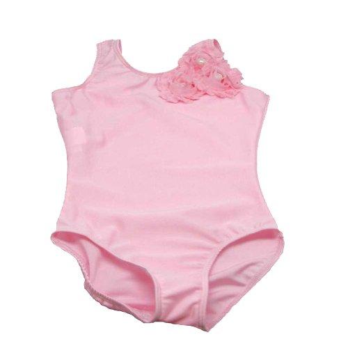 Reflectionz Pink Tank Shabby Rose Dance Gymnastics Leotard Girls 2T