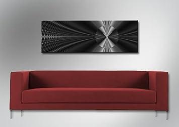 4163 Dixtime Designer Wanduhr, Wanduhren, Moderne Wohnraumuhr 35cm X 100cm
