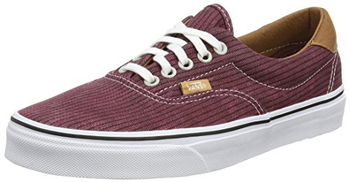 Low Rot Vans Top Era Erwachsene Rhubarb Herringbone 59 Unisex Washed CqZCI