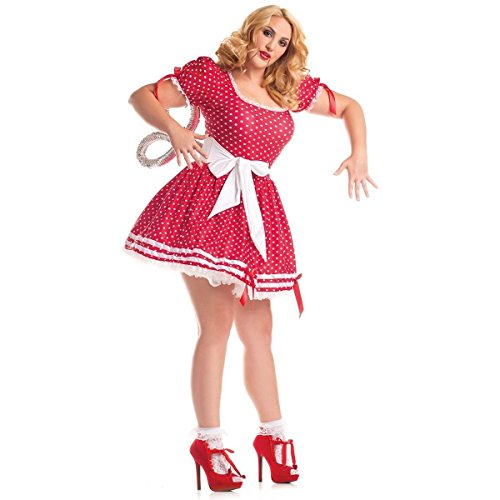Wind Up Doll Costume - Large - Dress -