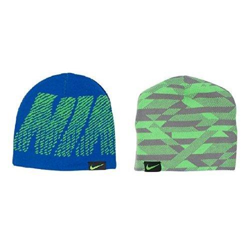 Kids' Nike Reversible Jacquard Beanie Hat Size 8/20 (Nike Beanie Wool)