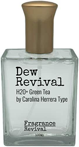 Dew Revival, H2O+ Green Tea by Carolina Herrera Type