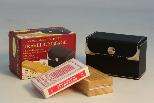WorldWise Imports 33746 Travel Cribbage Set by John ()
