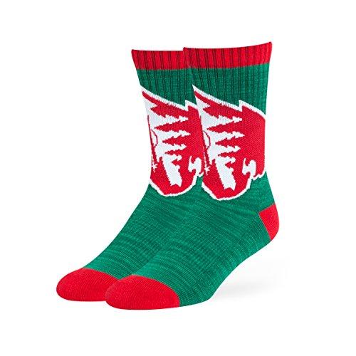 fan products of NHL Minnesota Wild OTS Ice Box Sport Sock, Dark Green, Large