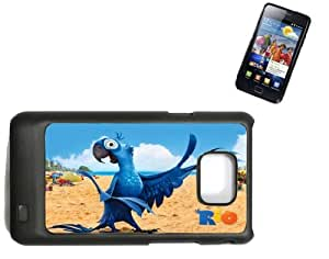 Samsung Galaxy S2 i9100 Hard Case with Printed Design Rio