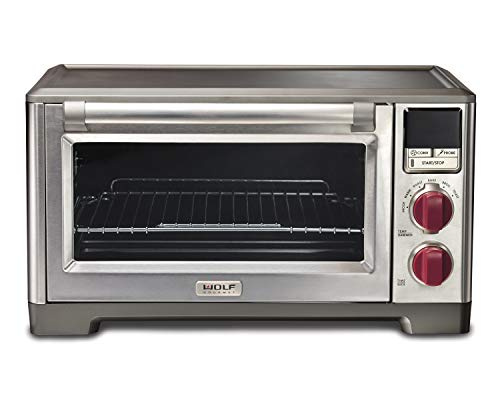 Wolf Gourmet WGCO100S Countertop Oven with Convection, Red (Best Counter Top Convection Oven)