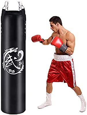 Boxing Fighting Taekwondo Training Punching Bag With Chain And Hook Durable