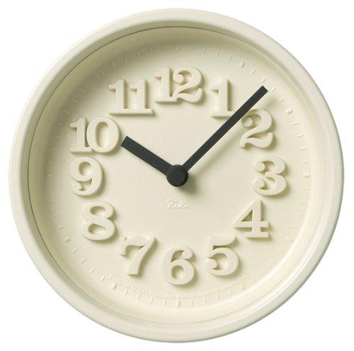 Lemnos 小さな時計 アイボリー WR07-15 IV B000YQ15QS アイボリー アイボリー
