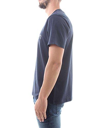Calvin 7 Jalo shirt Captain Front T Logo Klein Short Sleeve Sky BqCqxg
